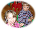 Children learn sense of hearing